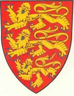 Coat of Arms of King Richard, The Lionheart (1189 - 1199)