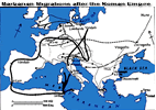 Barbarian Invasions from the end of the Roman Empire to the Early Medieval Period