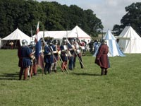Medieval Re-enactors from the Festival of History
