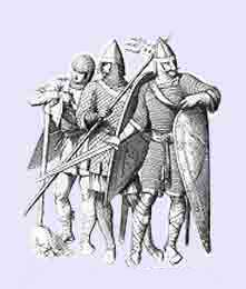 Norman Crusaders, foot soldiers from the First Crusade