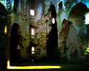 Nunney Castle - Interior View